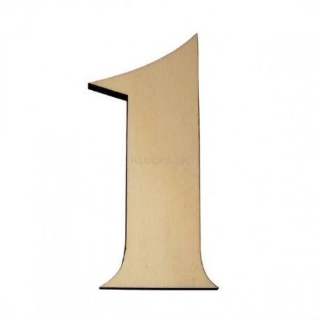 Domové číslo popisné DREVO č.1