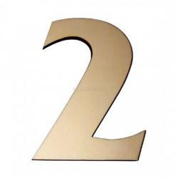 Domové číslo popisné DREVO č.2