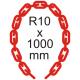Bezpečnostná reťaz Ø 10mm x 1000mm