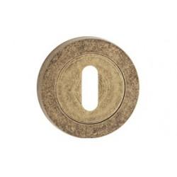 Štít dolný na kľúč antický bronz