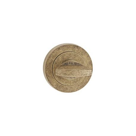 Štít dolný na WC antický bronz