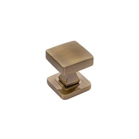 Guľa štvorcová bronz
