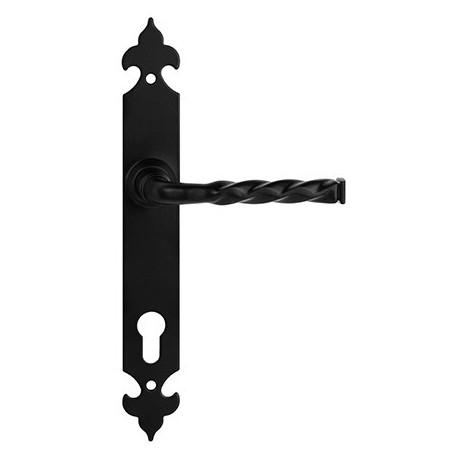 OLA kľučka do brány čierna