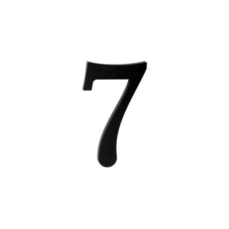 "domove číslo 175mm čierne ""7"""