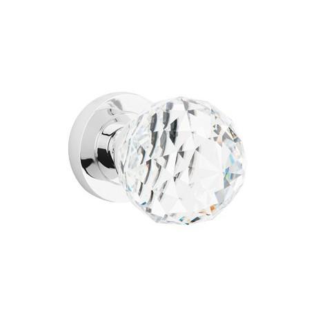CRYSTAL guľa s okrúhlym štítom priezračná