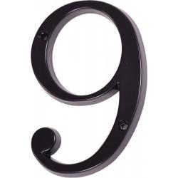"Číslo "" 9 "" čierne 120mm"