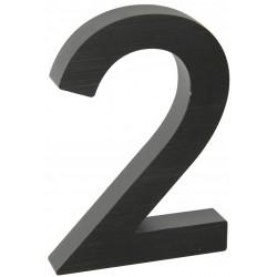 "RN.100LV.2.AL.C.3D číslo "" 2 ""  čierne"