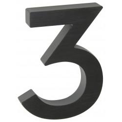 "RN.100LV.3.AL.C.3D číslo "" 3 ""  čierne"