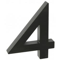 "RN.100LV.4.AL.C.3D číslo "" 4 ""  čierne"
