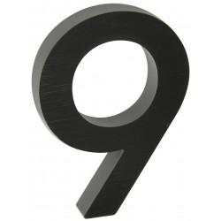 "RN.100LV.9.AL.C.3D číslo "" 9 ""  čierne"