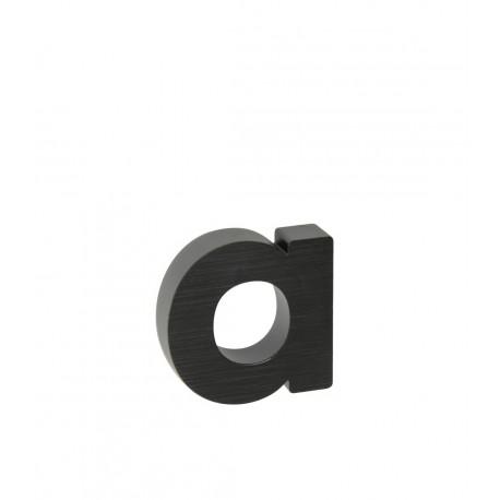 "Písmeno "" a "" 3D čierne"
