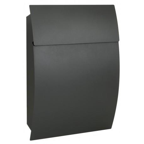 BK931 šedá poštová schránka