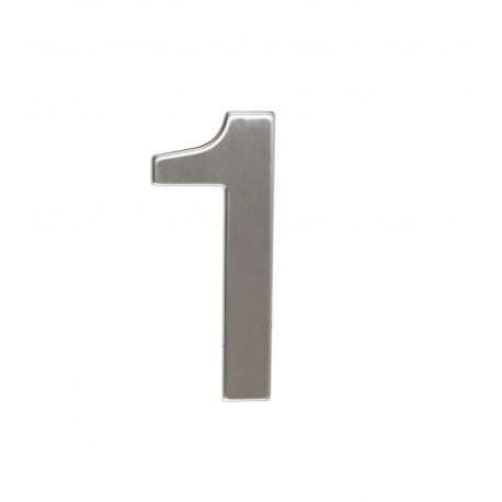 """Číslica """"1"""" 95mm nerez"""