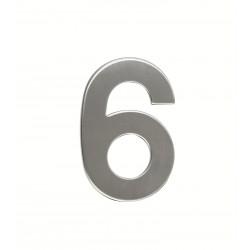 """RN.95L.6.N číslica """"6"""" 95mm nerez"""
