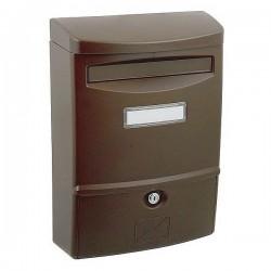 ABS II  hnedá poštová schránka