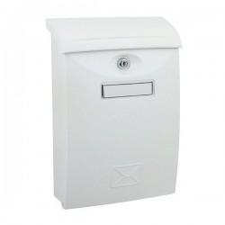 Poštová schránka biela ABS