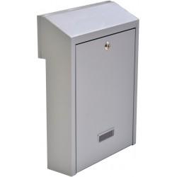 W3 šedá poštová schránka