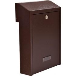 W3 poštová schránka medený antik
