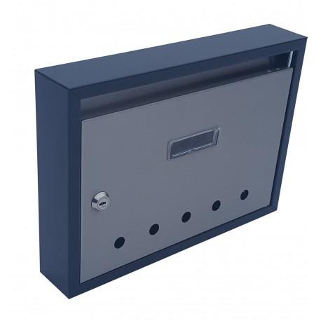 PANEL RAL7016 + nerez poštová schránka