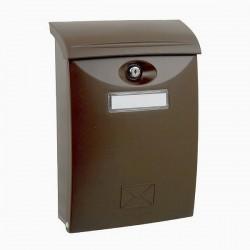 BK03 HM hnedá plastová schránka