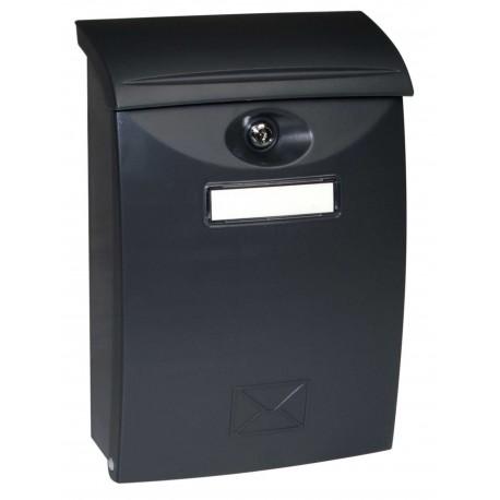 BK03 CM čierna plastová schránka
