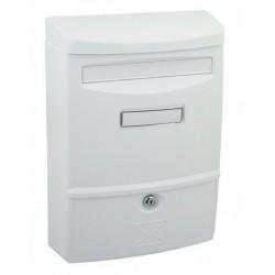 ABS II biela poštová schránka plast