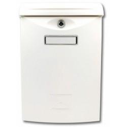 ABS III biela poštová schránka plast