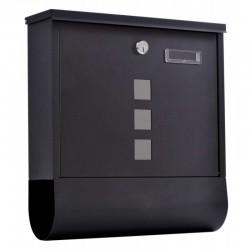 HANS poštová schránka čierna