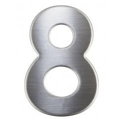 """Číslica """"8"""" 75mm nerez"""