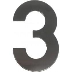 "RN.145V.3.N číslo ""3""  nerez"