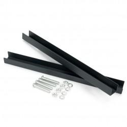 Montážny držiak na schránky 13-18cm antracit
