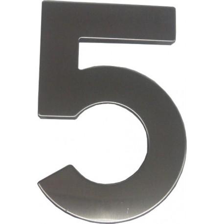 """číslo 145mm nerez """"5"""""""