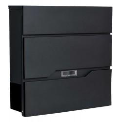 VIKI poštová schránka čierna