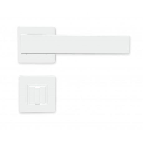 K01 WC kľučka na dvere biela