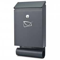 D3687 poštová schránka antracit