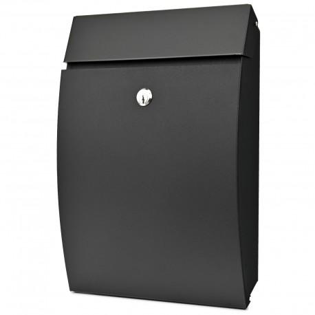 D3688 poštová schránka čierna
