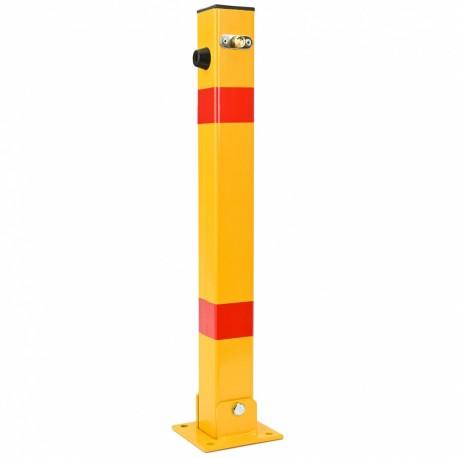US03 skladací stĺpik s uzamykaním žltý