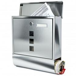 BK210 poštová schránka nerez X