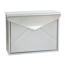 BK.57.S poštová schránka strieborná RICHTER CZECH