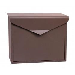 BK.57.HM poštová schránka hnedá RICHTER CZECH
