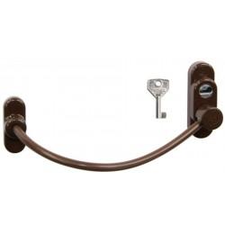 RHL.LZ.RAL8016.TH bezpečnostný lankový zámok