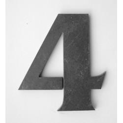 Domové číslo popisné Bridlice - č.4