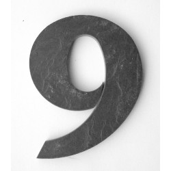 Domové číslo popisné Bridlice - č.9