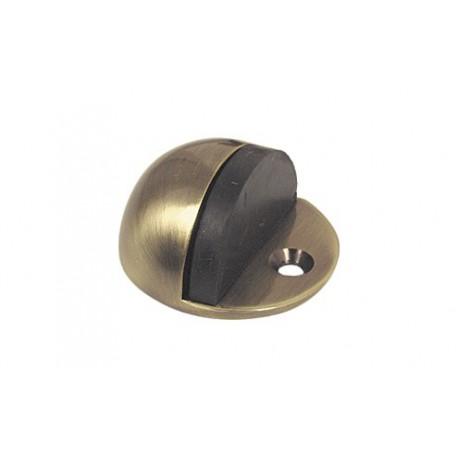 dverová zarážka na priskrutkovanie - bronz